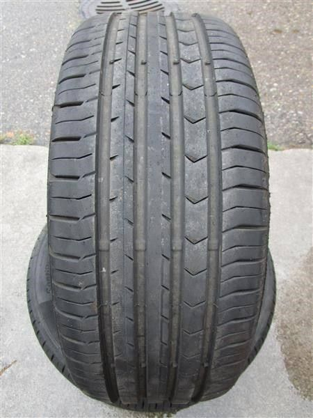 2 stk. Continental 225 / 55 R 16 Sommer