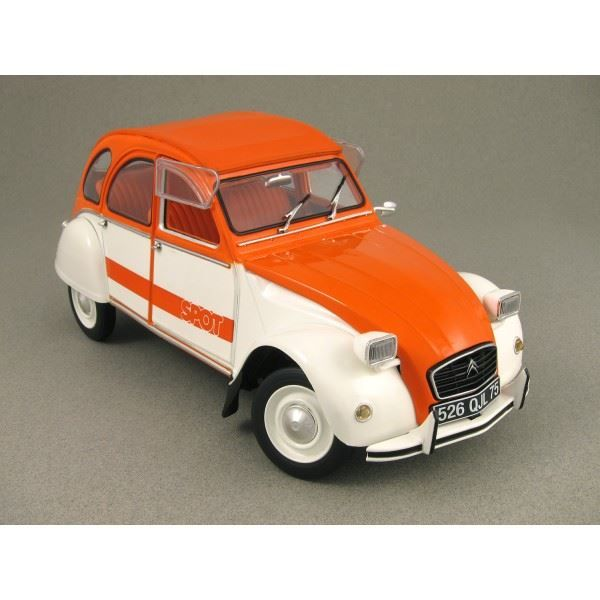 citro n 2cv spot 1976 weiss orange gerlafingen acheter sur. Black Bedroom Furniture Sets. Home Design Ideas
