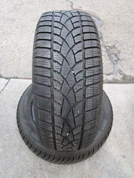2 stk. Dunlop 235 / 55 R 18 Winter