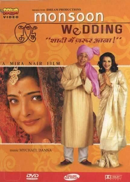 Following up on her controversial erotic drama Kama Sutra: A Tale of Love, Mira Nair directs this charming family drama about a very chaotic Indian wedding. - monsoon-wedding-mira-nair