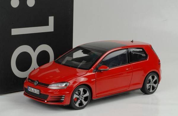 vw golf vii gti 2013 rot 1 18 norev in suhr kaufen bei. Black Bedroom Furniture Sets. Home Design Ideas