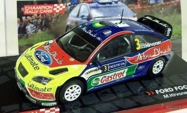 Ford Focus WRC (2008) in 1:43 - 10.12.2017 18:19:00 - 1