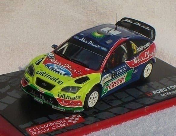 Ford Focus WRC (2008) in 1:43 - 10.12.2017 18:19:00 - 2