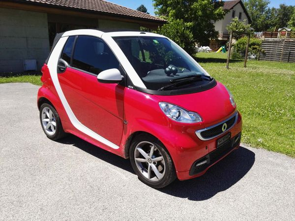 smart fortwo cabrio 1000 71 swiss edition mhd in lavigny. Black Bedroom Furniture Sets. Home Design Ideas
