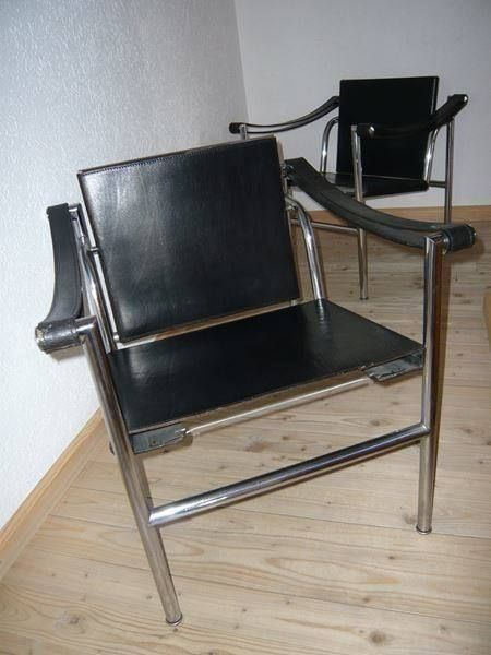 Sessel lc1 von le corbusier f r cassina in sumiswald for Sessel 20er jahre
