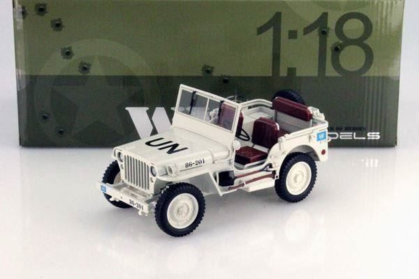 WILLYS JEEP US ARMY WEISS 1:18 WELLY - 15.02.2016 14:29:00 - 1