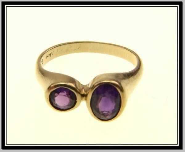 333 Gold - Fingerring mit Amathysten - 21.02.2016 16:58:00 - 1