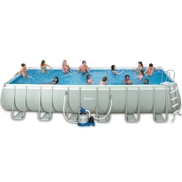 Intex 549x274x132cm chemiefrei silber in wynau kaufen bei for Intex swimming pools australia