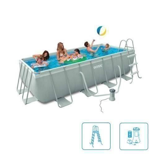 intex ultra quadra frame pool set in romanshorn kaufen bei. Black Bedroom Furniture Sets. Home Design Ideas
