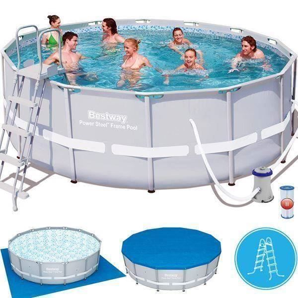 Komplettset swimmingpool 427cm in uttwil kaufen bei for Garten pool komplettset