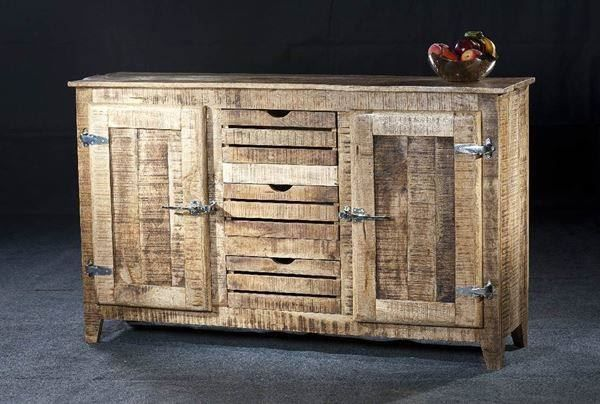 sideboard frigo mangoholz 150 cm unterentfelden acheter. Black Bedroom Furniture Sets. Home Design Ideas