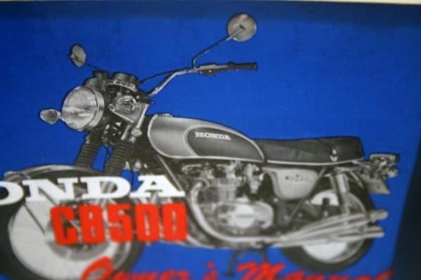 Honda Cb500 Owners Manual Pdf