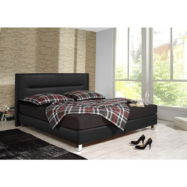 boxspringbett mondo schwarz in singen kaufen bei. Black Bedroom Furniture Sets. Home Design Ideas
