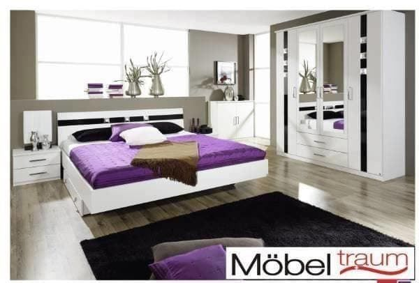 schlafzimmer set mit strass applikation in st margrethen kaufen bei. Black Bedroom Furniture Sets. Home Design Ideas
