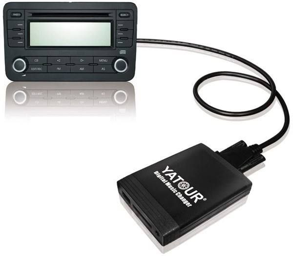 AUX Adapter Interface USB SD SDHC Kar...