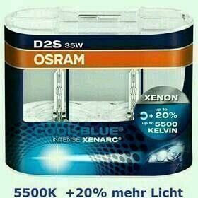 OSRAM D2S Xenarc COOL BLUE Intense 35W
