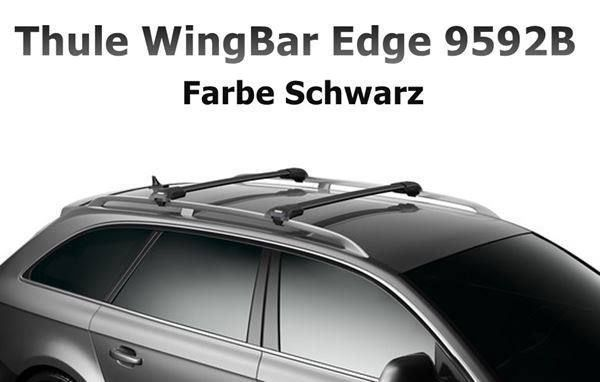 THULE WingBar Edge Black BMW X3 F25