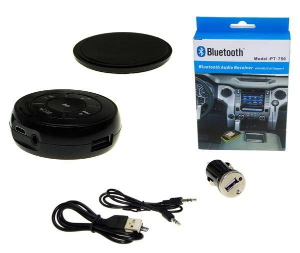 AUX Bluetooth Musik Adapter Receiver ...