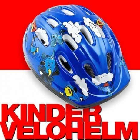 neu velohelm fahrradhelm kinder blau in z rich kaufen bei. Black Bedroom Furniture Sets. Home Design Ideas