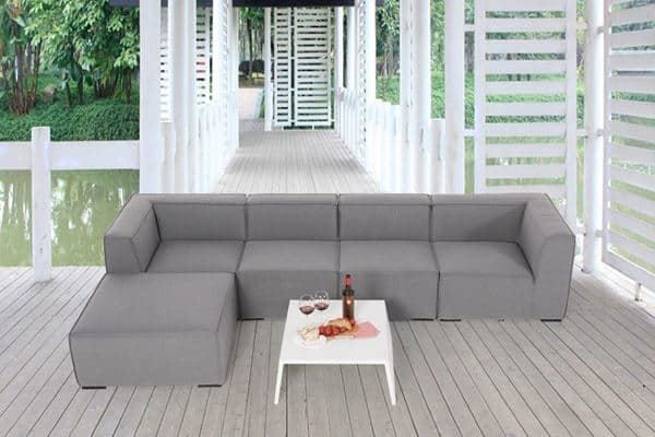 outdoor gartensofa 100 wetterfest in z rich kaufen bei. Black Bedroom Furniture Sets. Home Design Ideas