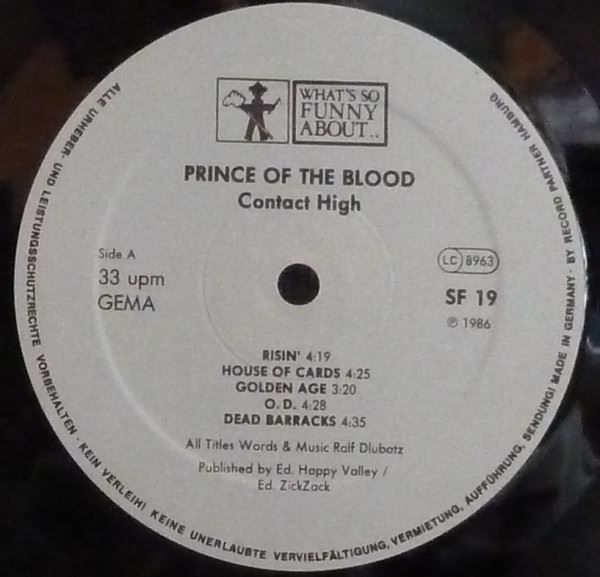 PRINCE OF THE BLOOD   -  CONTACT HIGH - 23.04.2017 16:23:00 - 3