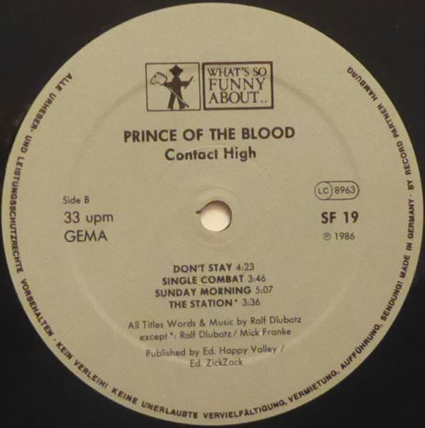 PRINCE OF THE BLOOD   -  CONTACT HIGH - 23.04.2017 16:23:00 - 4
